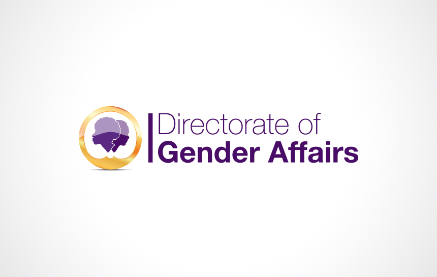 Directorate of Gender Affairs Antigua Logo Design combination mark